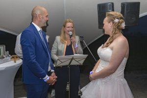 Een prachtig koppel, een magische huwelijksceremonie: de perfecte start voor een gelukkig leven samen.